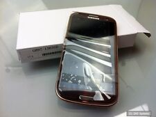Samsung mea Front octa LCD Amber Brown gs3 i9300, gh97-13630d (gs3 i9300) marrón