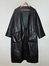 OSKA QUIRKY PATENT COAT -SIZE I (FIT 18/20/22) - RRP:  £545
