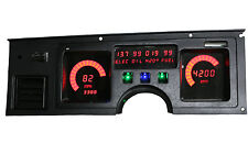 C4 CORVETTE 1984-1989 Digital Dash Gauge Cluster Direct Fit RED LEDs!