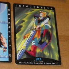 DRAGON BALL Z DBZ HERO COLLECTION PART 3 CARD REG REGULAR CARTE 272 MINT NEUF