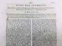 Protestant des Cévennes 1792 Yssengeaux Condorcet Neuf Brisach Lyon Nantes