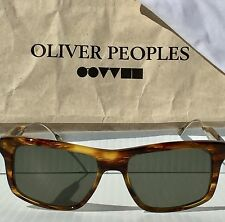 NEW* Oliver Peoples Gaviota Wayfarer Tortoise POLARIZED Bronze mosley Sunglass