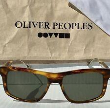 NEW* Oliver Peoples Gaviota Tortoise POLARIZED Bronze Sunglass 5283 Mosley