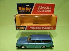DINKY TOYS 122 VOLVO 265 DL ESTATE - METALLIC BLUE 1:43? - GOOD CONDITION IN BOX