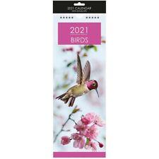 CALENDAR 2021 -BIRDS SLIM - New