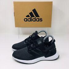*NEW* Adidas Rapida Run EL (Youth Size 2) Athletic Sneaker Shoe Black