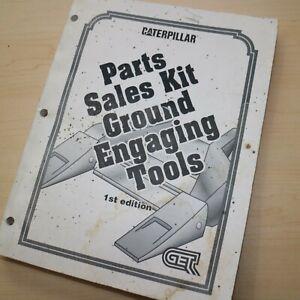 CAT Caterpillar Ground Engaging Tool Sales Kit Parts Manual 1993 Handbook shop