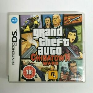 Grand Theft Auto: Chinatown Wars Nintendo DS DSI DSL NDS 3DS FREE P&P