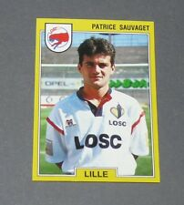 N°90 SAUVAGET LILLE OSC LOSC DOGUES GRIMONPREZ PANINI FOOTBALL FOOT 92 1991-1992