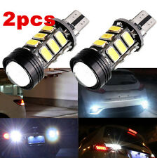 2pcs Xenon White No Error Canbus T15 W16W 5630 COB 15-LED Backup Reverse Bulbs