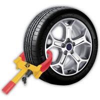 7-11 inch Car Wheel Clamp Lock Van Caravan Trailer Vehicle Security With 2 Keys