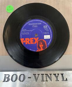 "T•Rex – Telegram Sam Vinyl 7"" Single 1972 Glam Rock Marc Bolan Ex"