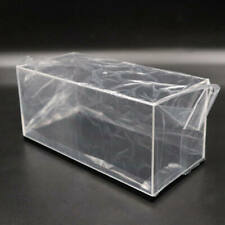 Lots of Model Toy Car Acrylic Display Cases Transparent Dust Proof Box with Base