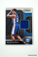 2019-20 Panini Prizm Matisse Thybulle Sensational Swatches #SS-MTY RC Jersey