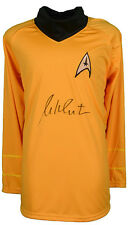 William Shatner signed Star Trek Yellow Uniform Shirt- JSA ITP Holo Captain Kirk