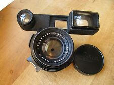 Leica 35mm Summilux f/1.4 Lens w. Black Paint Goggles for M3