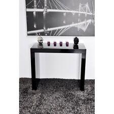 Tavolo economico consolle allungabile fino a 3 mt nero lucido laccato 14 posti