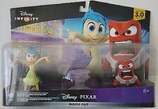 Inside Out Disney Pixar Infinity MIB Joy Anger & Crystal 3.0 Edition Video Game