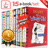 ✅ NEW ✅ Diary of a Wimpy Kid Collection 1-15 📧 E-βO0K Set ⚡Fast Delivery⚡