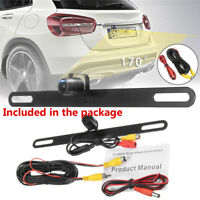170° Waterproof Night Vision Car Rear View Reverse Backup Parking Camera HD  12V