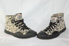 Vtg Vision Street Wear All Over Skulls Original Korea Skate Shoes Skateboard 9.5