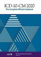 ICD-10-CM 2020: COMPLETE OFFICIAL CODEBOOK (Spiral-bound)  - FREE SHIPPING