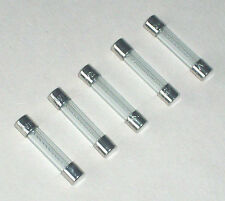 FIVE Manitowoc 25-1100-3 Fuses 7 Amp 2511003 for B, J, and Q series Ice Machine