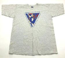 "VINTAGE U.S. Diving Team Junior Olympics Championship Shirt Size L Diver Tee 98"""