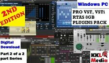 PRO VST Plugins Pack VSTi RTAS 8GB Windows PC FL Studio Ableton 2nd Edition