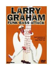 Larry Graham Funk Bass Attack Learn to Play Slap Bass Guitar Lesson MUSIC DVD