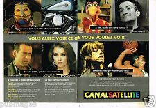 Publicité advertising 1994 (2 pages) Canal Satellite