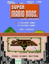 Mario Bundle: Legend of Zelda & Super Mario Bros [Nintendo Wii U, eShop DLC] NEW