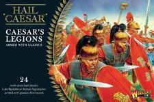 CAESARIAN ROMANS WITH GLADIUS HAIL CAESAR - WARLORD GAMES - 1ST CLASS-