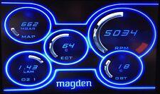 Magden M.1 Performance computer Fast & Furious 4 + Zeitronix Zt-2 Wideband + LCD