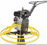 "37"" Walk-Behind Cement Power Trowel Concrete Tools 6.5HP 196CC Gas Engine EPA"