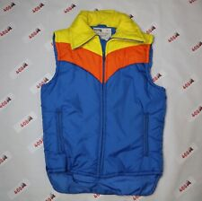 Vintage Montgomery Ward Vest Men's Small Blue