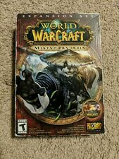 World of Warcraft Mists of Pandaria Expansion Set (Windows XP-Vista-7 &Mac) NEW