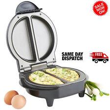 UK Black Copper  Chef - Omelette Pan The Kitchen Non-stick Omlette Maker UK