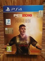 PES 2016 PRO EVOLUTION SOCCER - ANNIVERSARY EDITION    PS4  ITA  ORIGINALE