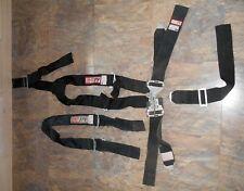 Vtg Rjs Seat Belt 5 Point Safety Racing Harness Dune Buggy Sand Rail Rat Rod