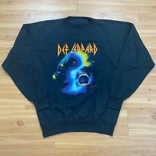 Vintage 1987 Def Leppard Hysteria Sweatshirt Double sided Rare XL Metal