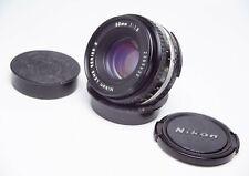 Nikon Series E 50mm 1:1.8 F1.8 Prime Full Frame AiS F Mount Pancake Lens