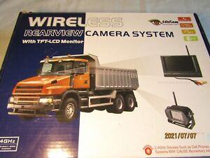 "4Ucam Digital Wireless  7"" Monitor, remote + cables NO CAMERA for Bus RV  Q7"