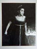 Foto Original Donald Southern Ópera Tosca Galina Vishnevskaya 1977