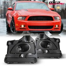 For Ford Mustang 13-14 Factory Bumper OE Fit Fog Lights + Wiring Kit Clear Lens