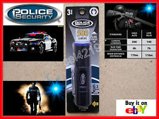 Police Security Storm Aluminum LED Flashlight 500 Lumens Slide Focus 3AAA 3 AAA