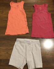 Girls Shirts And Shorts Size 5 Summer Lot Mixed Brands