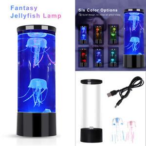 Quallen Lampe LED Stimmungslicht Nachtlicht Aquarium Zuhause Schlafzimmer Dekor