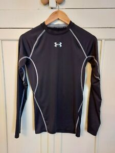 Under Armour Long Sleeved Compression Top, Size S, Black