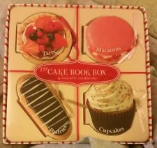 The Cake Book Box Board book (set of 4 magnetic books) NEW